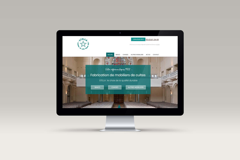 Site web STELLA mobilier de cultes