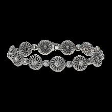 """Trellis"" Collection Round Diamond Bracelet"