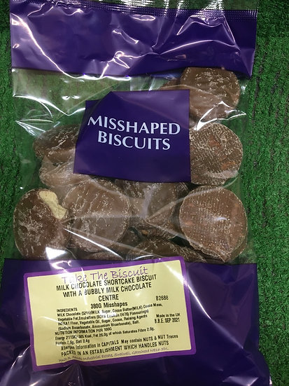 Chocolate shortcake biscuits £1.25