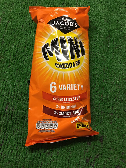 Variety pack Mini Cheddar £1.25