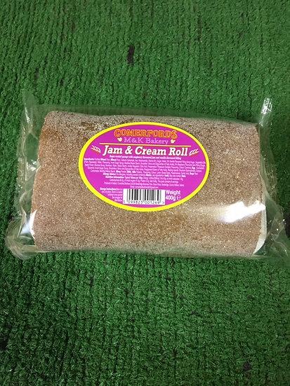 Jam & Cream Roll-£1.69