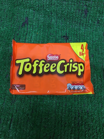 Toffee Crisp ( 4 Pack )-£1.25