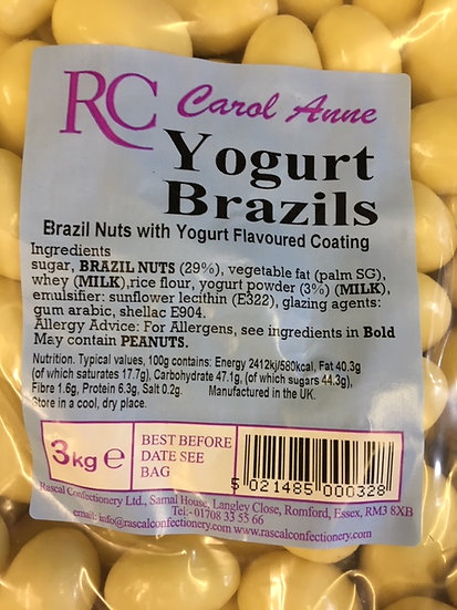 Yogurt Brazils x300gr