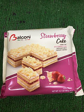 Balconi Strawberry cake-£1.99