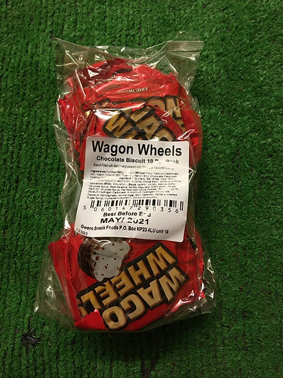 Red Wagon wheels 10 pack £1.25