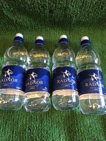 Bottles Water (x4)