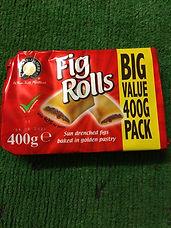 400gr fig rolls £1.25
