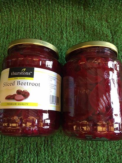 Beetroot Jar Sliced and Pickled- £1.25