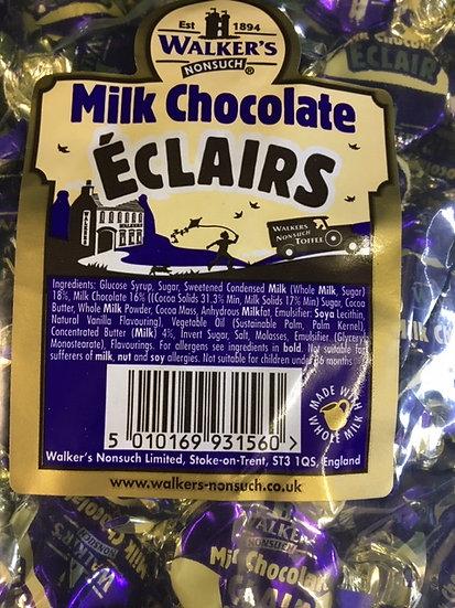 Walkers Milk Chocolate Eclairs x 250gr