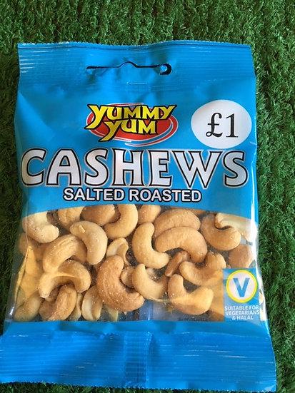 Salted Cashews x50gr