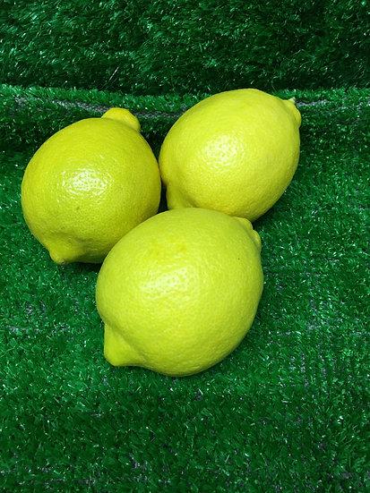 Lemons  (x3) -£1.35