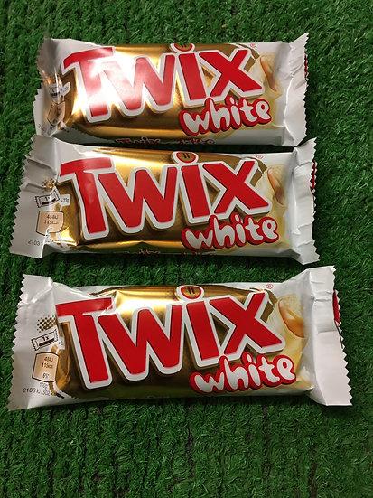 White Twix (x3 bars)-£1.25