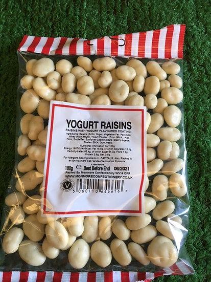 Yogurt Raisins x 180gr