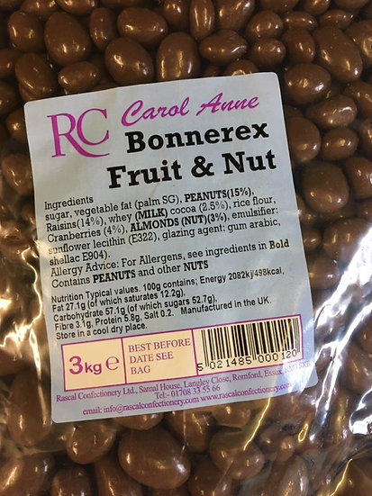 Chocolate Fruit and Nut x 450gr