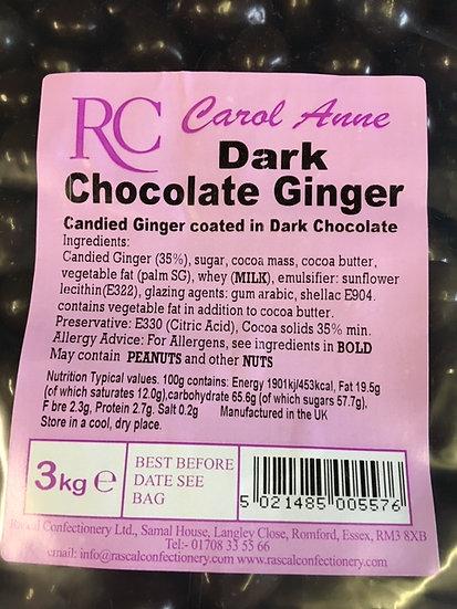 Dark Chocolate Ginger x 325gr