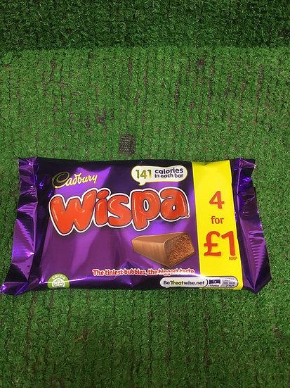 Wispa (4x 25gr pack) £1