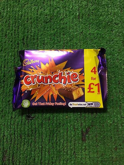 Crunchie (4 x 26.1gr Pack)-£1