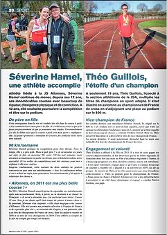 JSA Athlétisme - S.Hamel & T.Guillois -