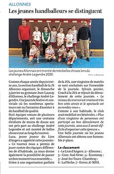 JSA Handball - Ecole de Handball - 15.01