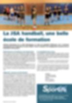 JSA Handball - Ecole de Formation - Mars