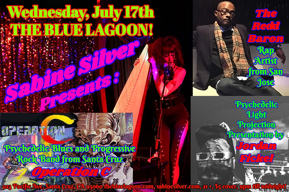 Sabine Silver Presents Wednesday July 17