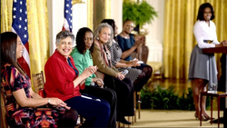 At the White House w/ Mrs. Obama