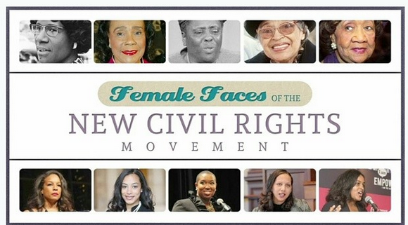 Female Faces of the New Civil Rights