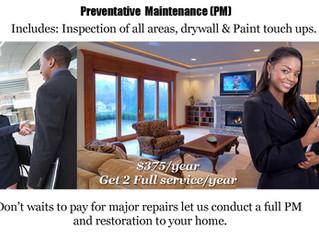 Preventative Maintenance (PM)