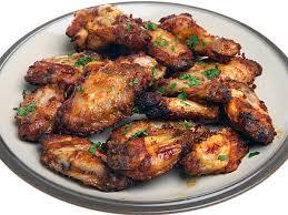 Mango habanero jerk chicken wings Tray