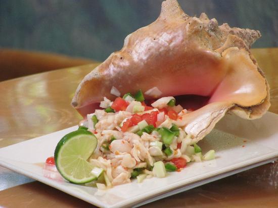 Conch Salad Tray