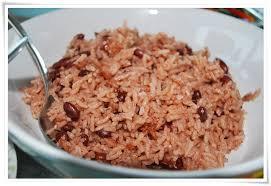 Rice n Peas Tray