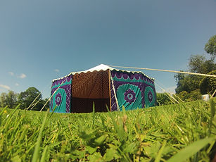 summer wedding, tents for hire, colourful tents, pukka tents