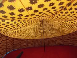 colourful tent, pukka tents, devon