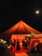 party, pukka tents, colourful tents, for hire