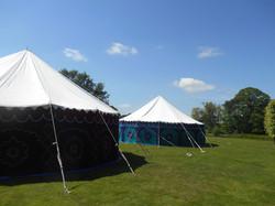 pukka tents, colourful tents, hire