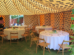 colourful tents, tents for hire,