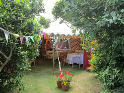 weymouth, party, tent hire,colourful