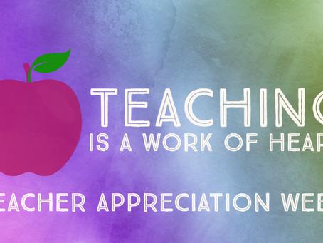 Appreciation For Our Teachers
