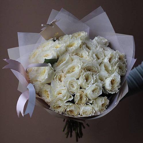 Букет из пионовидных роз Пейшенс