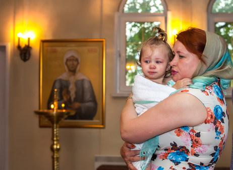 фотосессия крестин ребенка