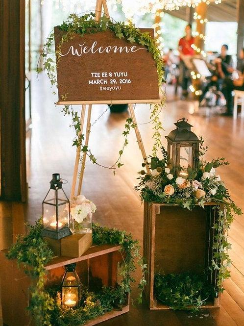 Декор зоны welcome