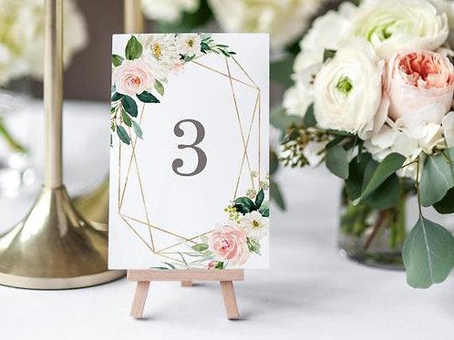 Номерки на свадьбу