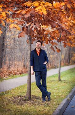 мужская фотосессия на улице