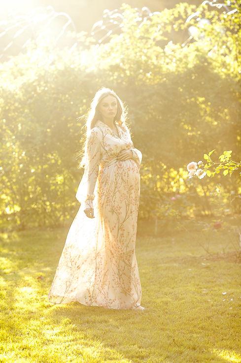 фотосессия для беременных в парке