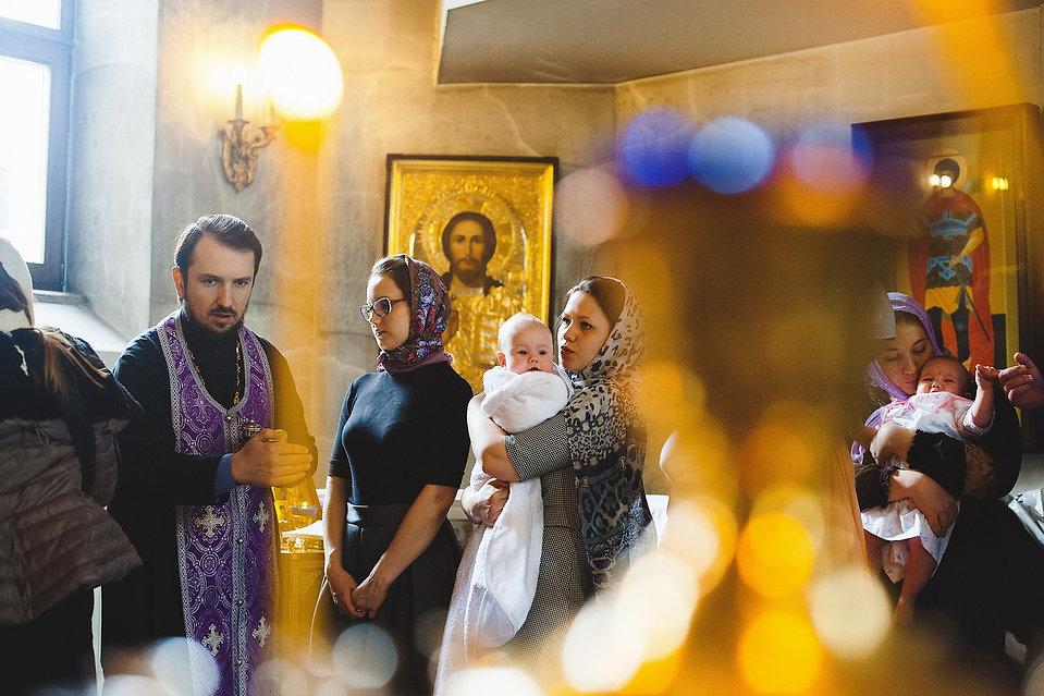 фотограф крещение