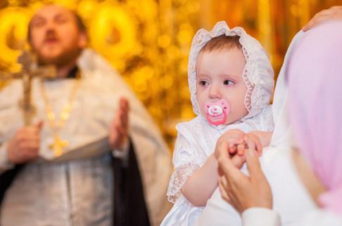 съемка крещения