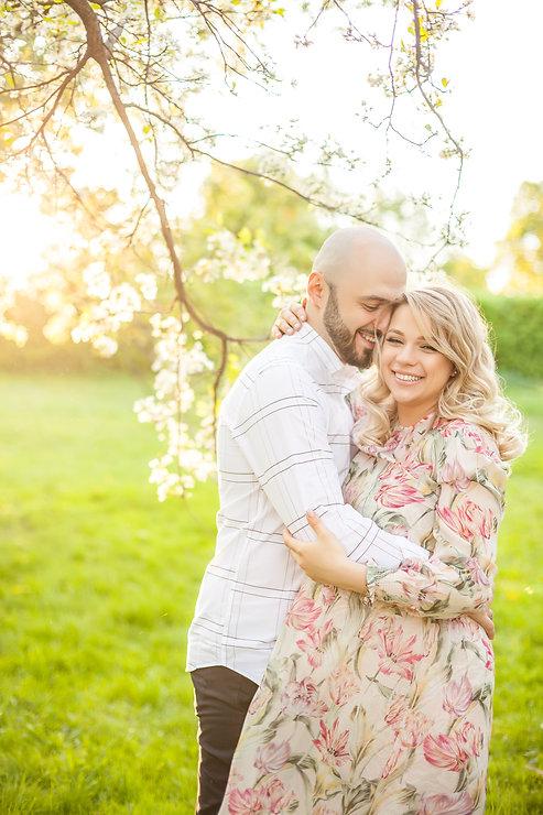 фотосессии беременных с мужем фото на природе