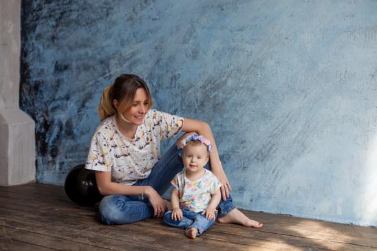семейное фото в студии