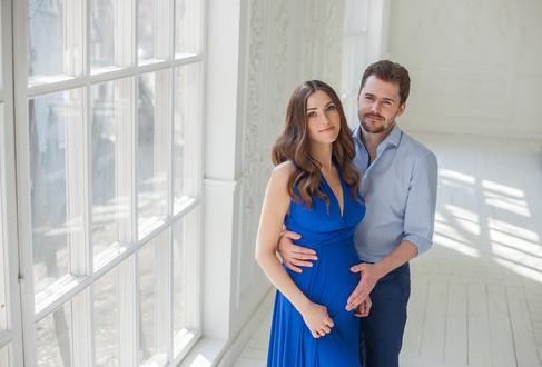 идеи фотосессии для беременных с мужем