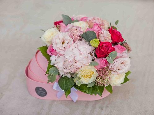 Цветы в коляске на выписку девочки